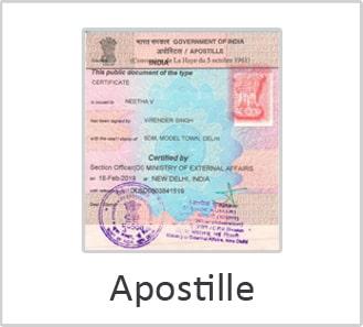 Apostille in India