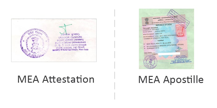 The difference between MEA Attestation and Apostille