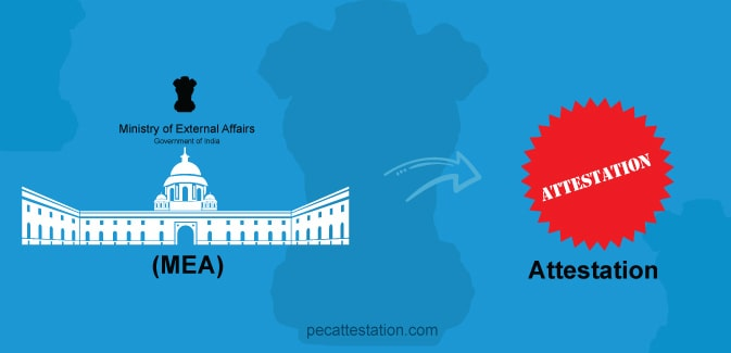 Mea attestation in india
