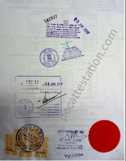 Educational document attestation for taiwan